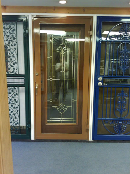 Security doors chicago illinois exterior services chicago for Front door security