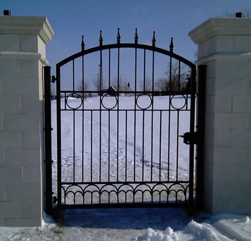 Wrought Iron Fences Chicago Illinois Exterior Services